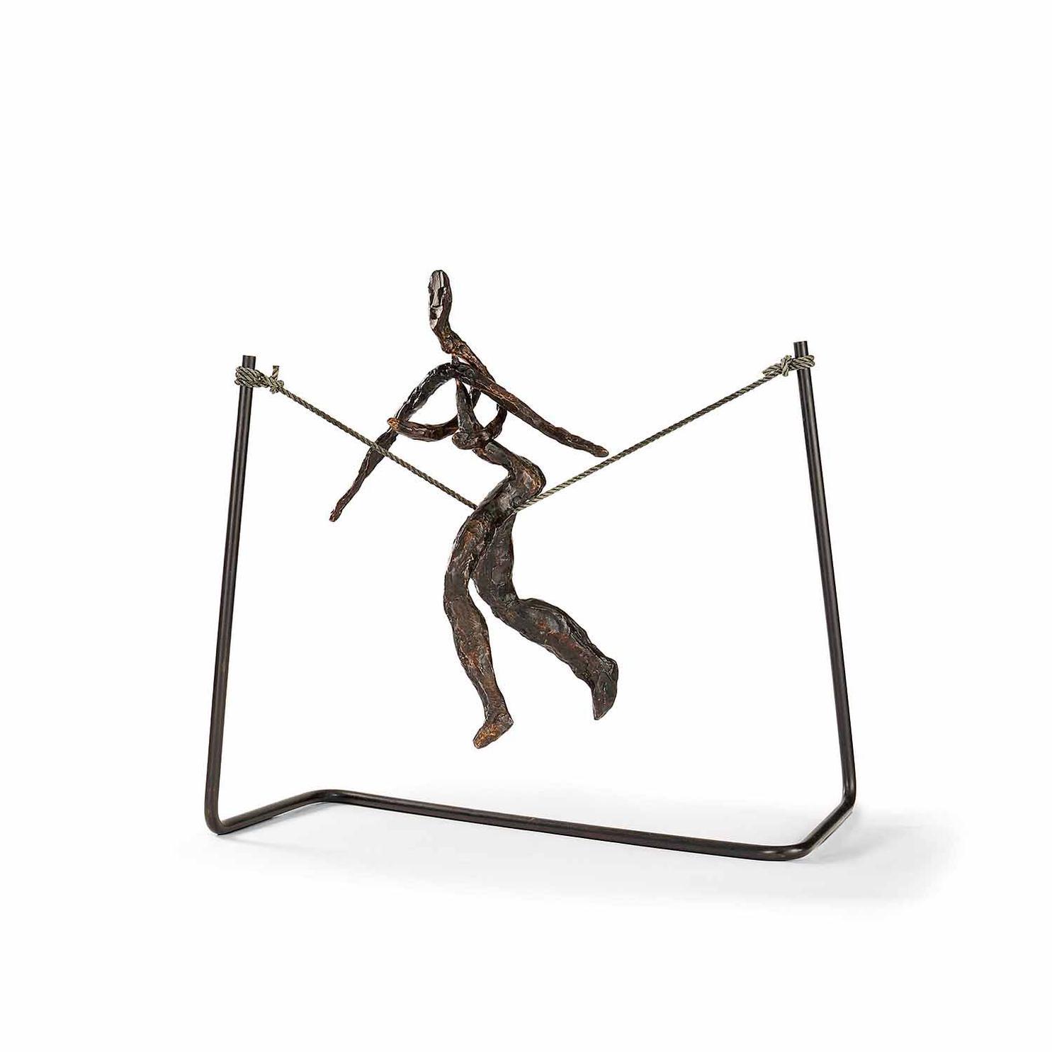 Alexander Calder-Tightrope Worker (Woman On Cord)-1969
