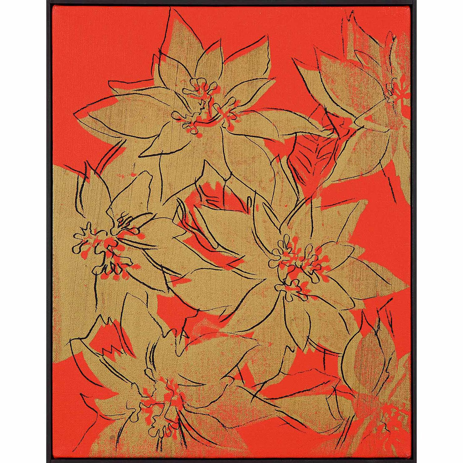 Andy Warhol-Poinsettias-1982