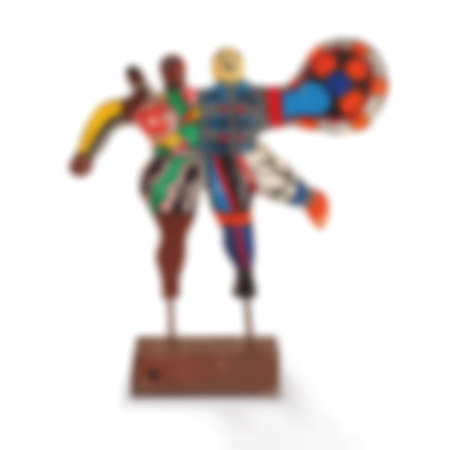 Niki de Saint Phalle-Les Patineurs-1973