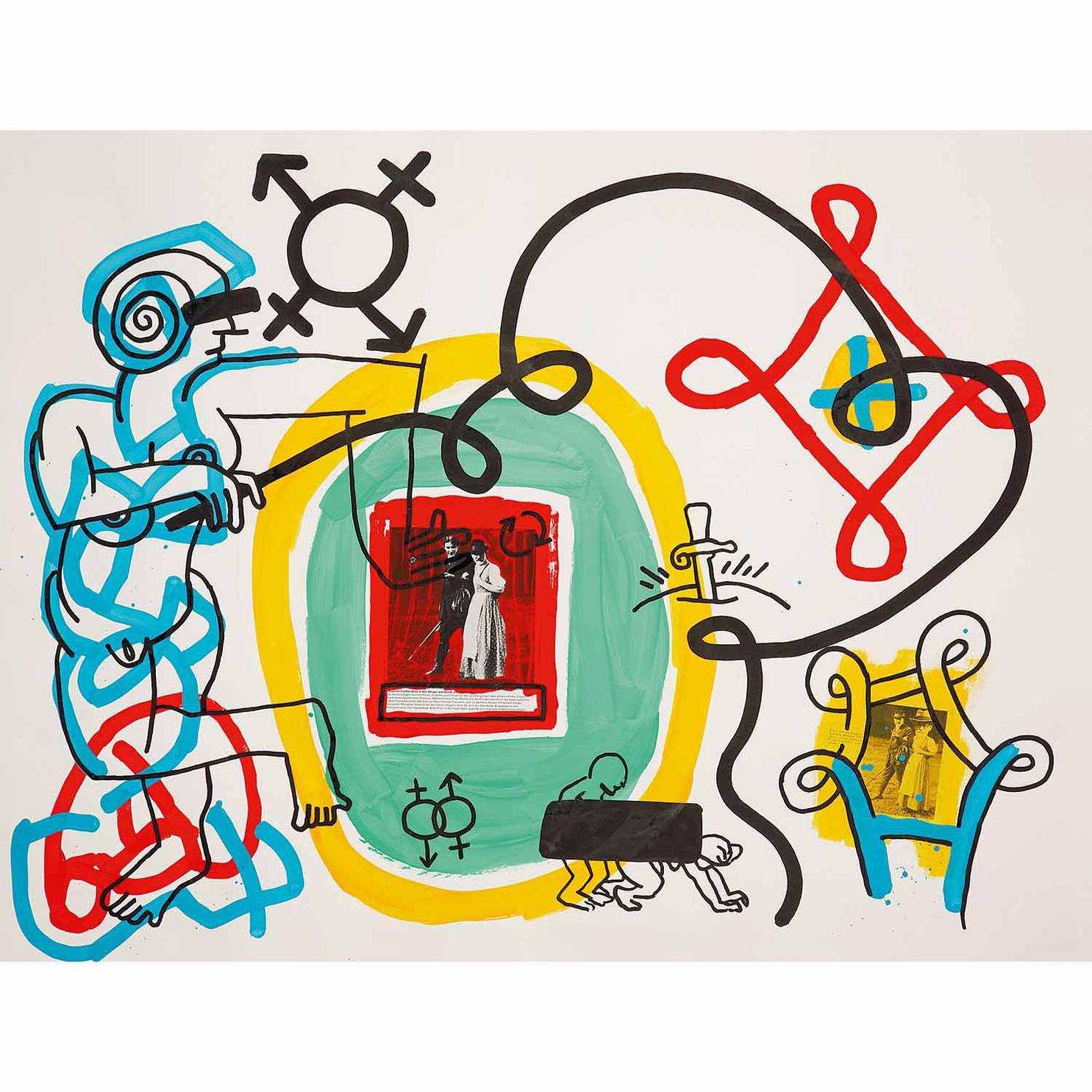 Keith Haring-Freud Drawings-1989