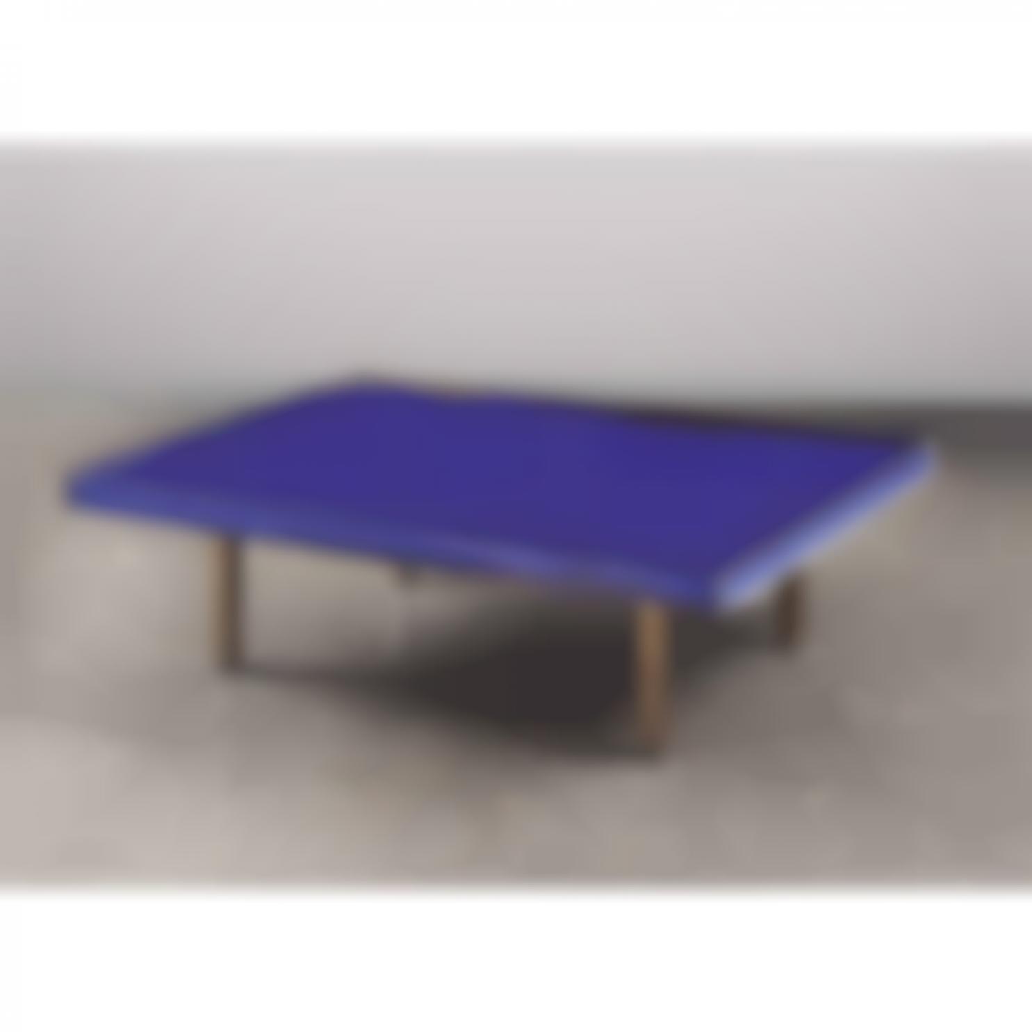 Yves Klein-Table Bleu Klein-1963