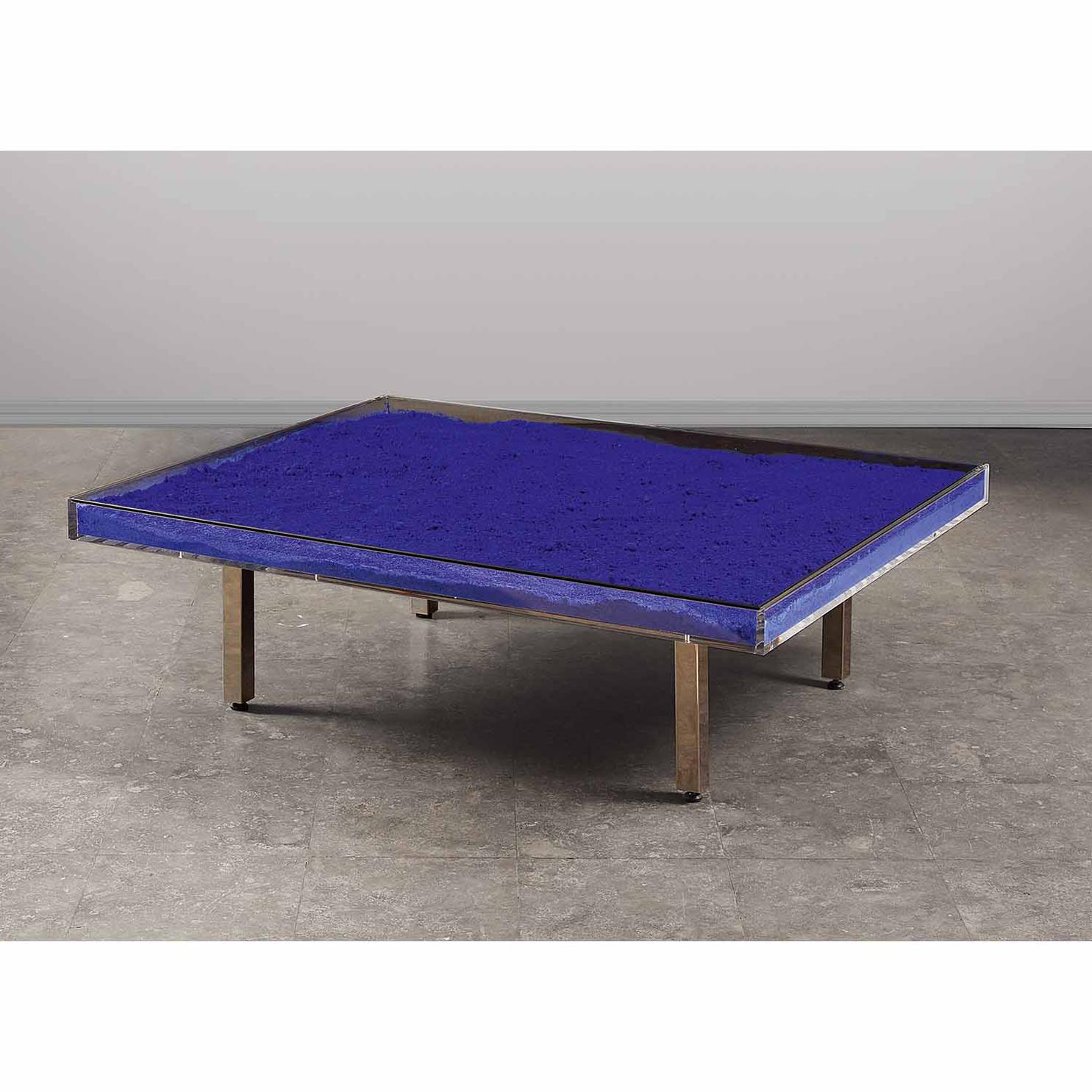 Yves Klein-Table Bleu Klein-1963