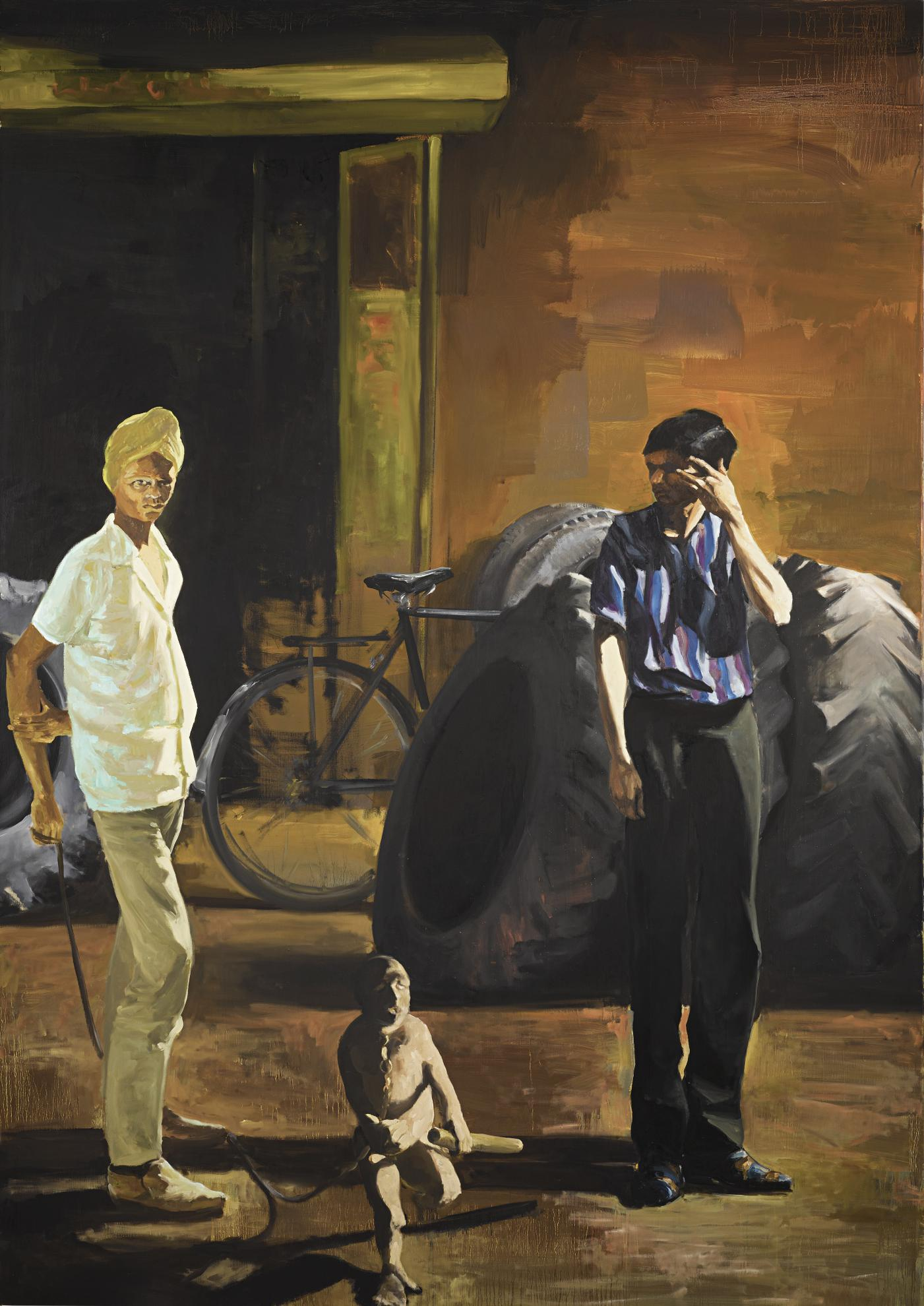 Eric Fischl-The Tire Store-1989