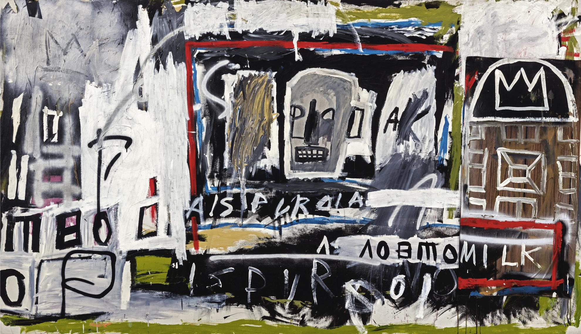 Jean-Michel Basquiat-New York, New York-1981
