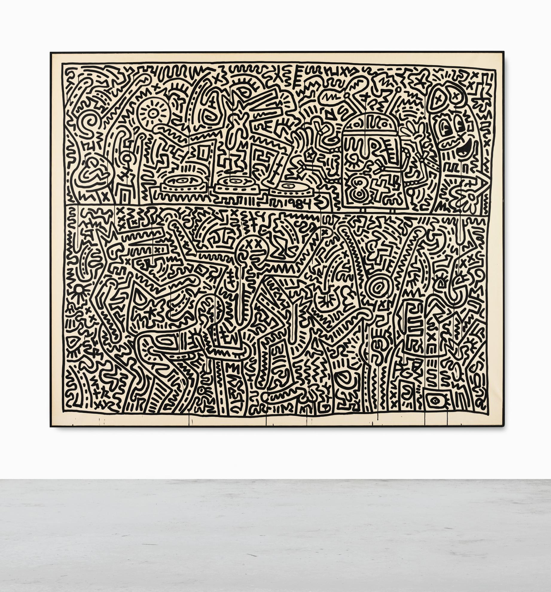 Keith Haring-August 15-1983