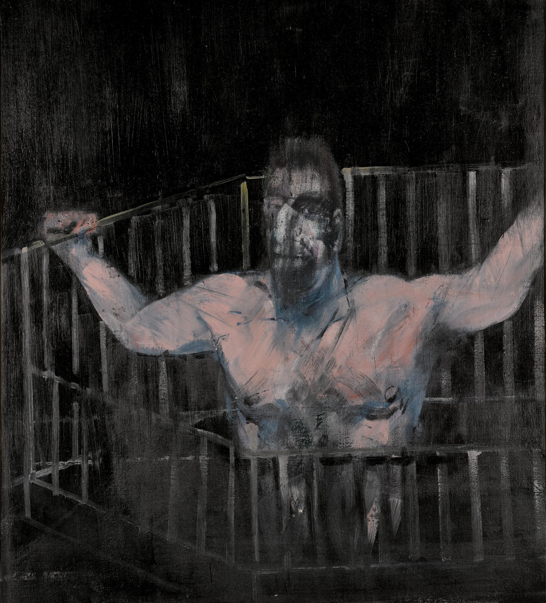 Francis Bacon-Study Of A Figure-1954