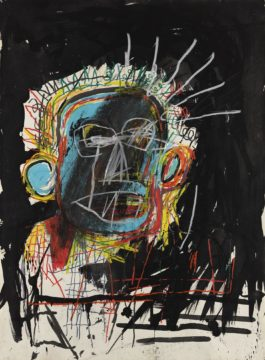 Jean-Michel Basquiat-Untitled-1982
