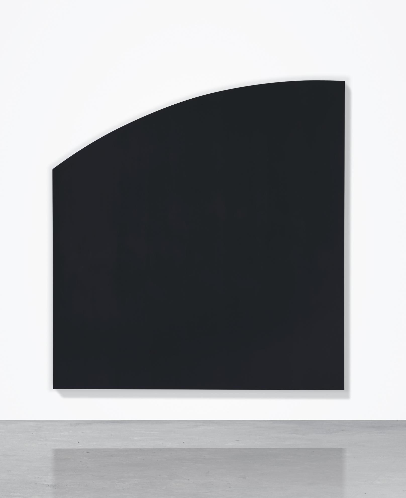 Ellsworth Kelly-Black Panel With Curve-1999