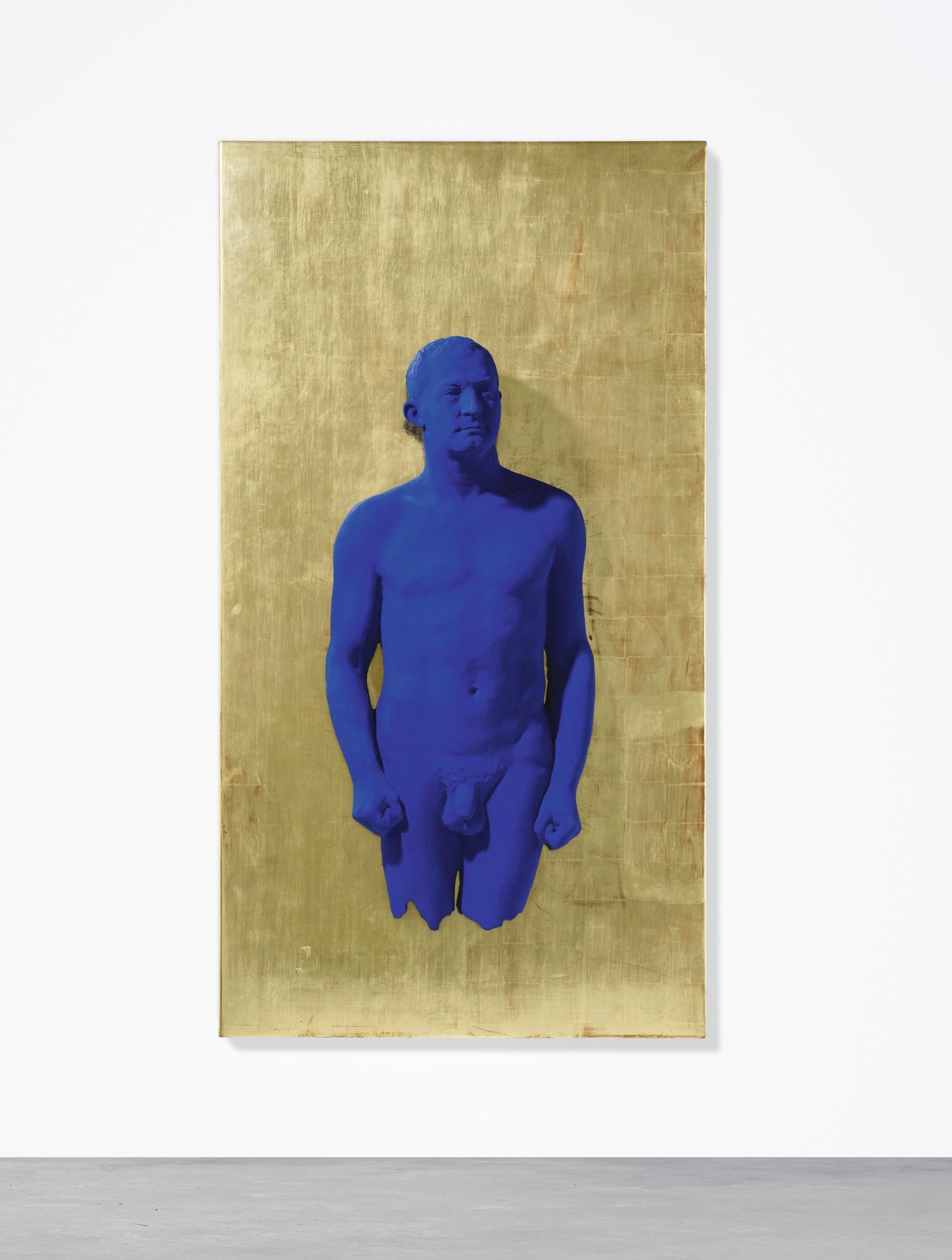Yves Klein-Portrait Relief Of Arman, (Pr 1)-1989