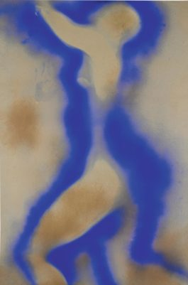 Yves Klein-Untitled Anthropometry, (Ant 5)-1962