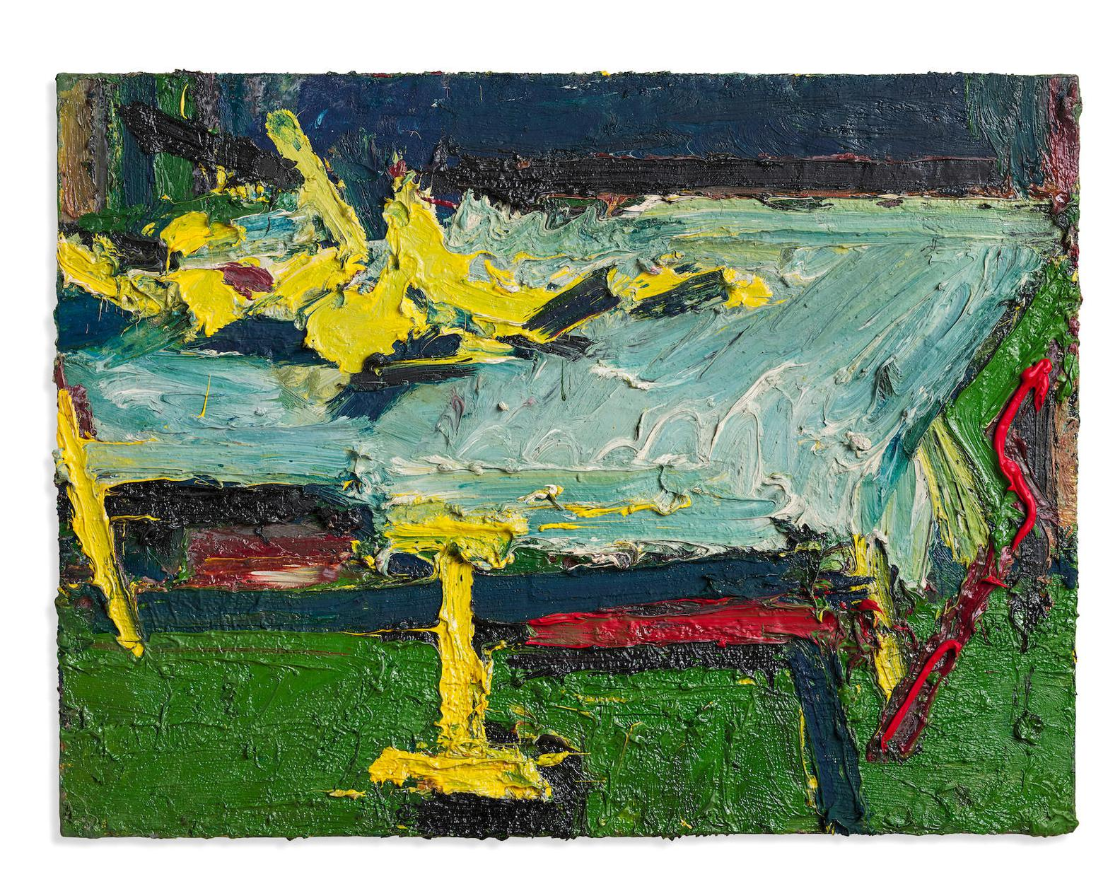Frank Auerbach-Figure On A Bed II-1967