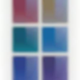 Dadamaino-La Ricerca Del Colore, (10 Works)-1967
