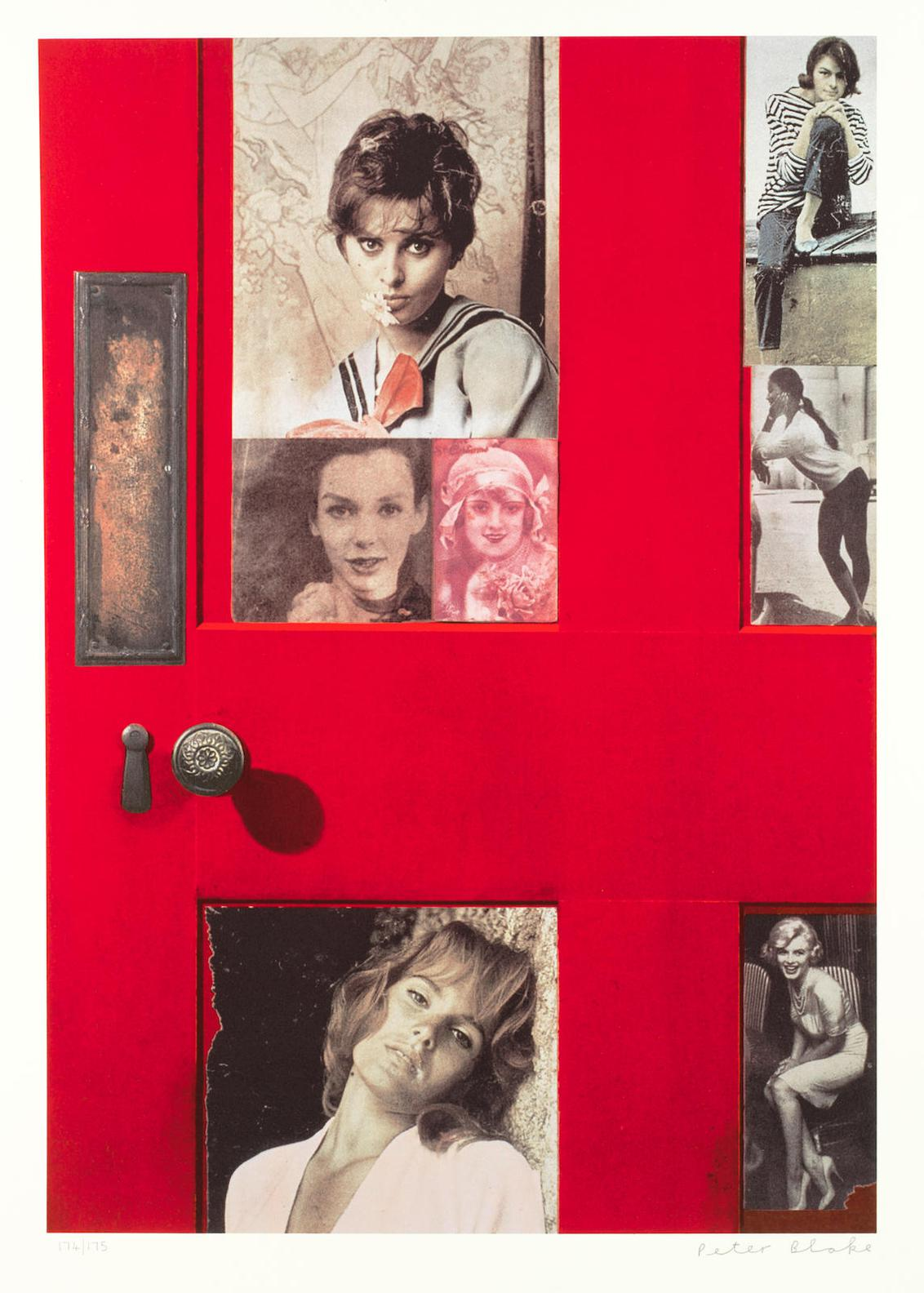 Sir Peter Blake - Girlie Door, From Replay-2008