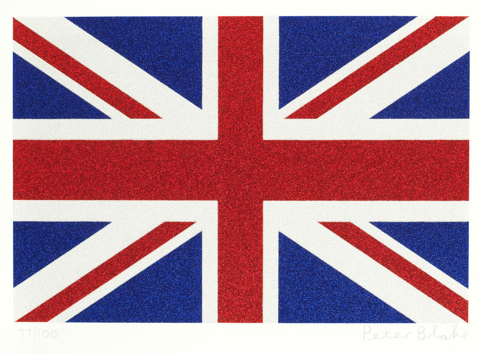 Sir Peter Blake - Union Flag (Small)-2016