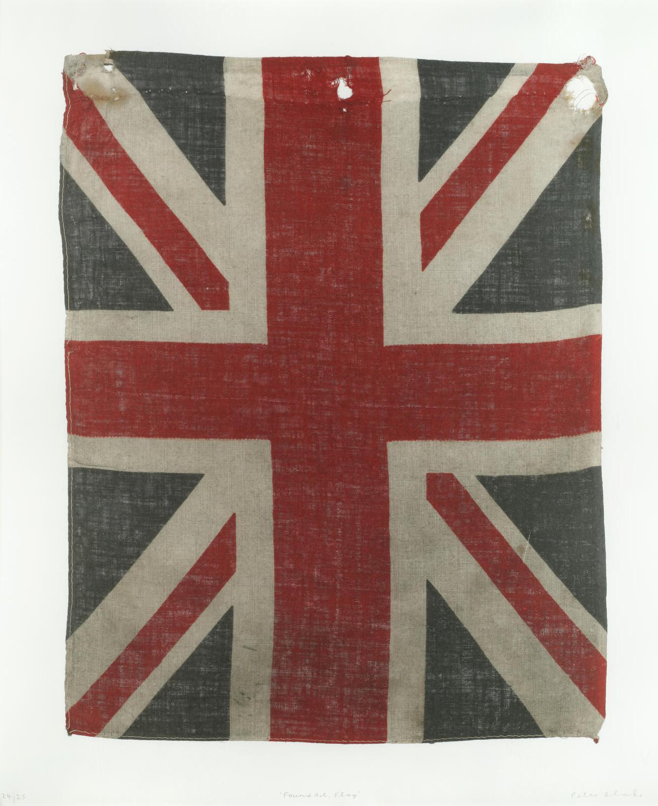 Sir Peter Blake - Found Art, Flag-