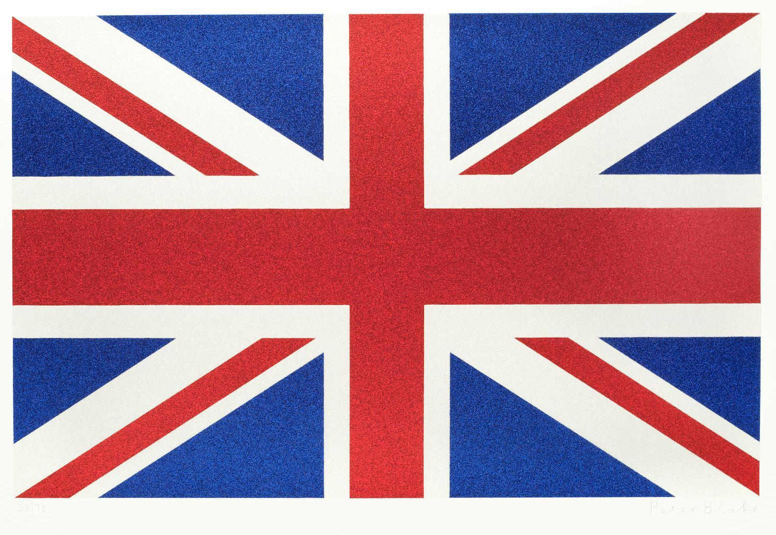 Sir Peter Blake - Union Flag (Large)-2016