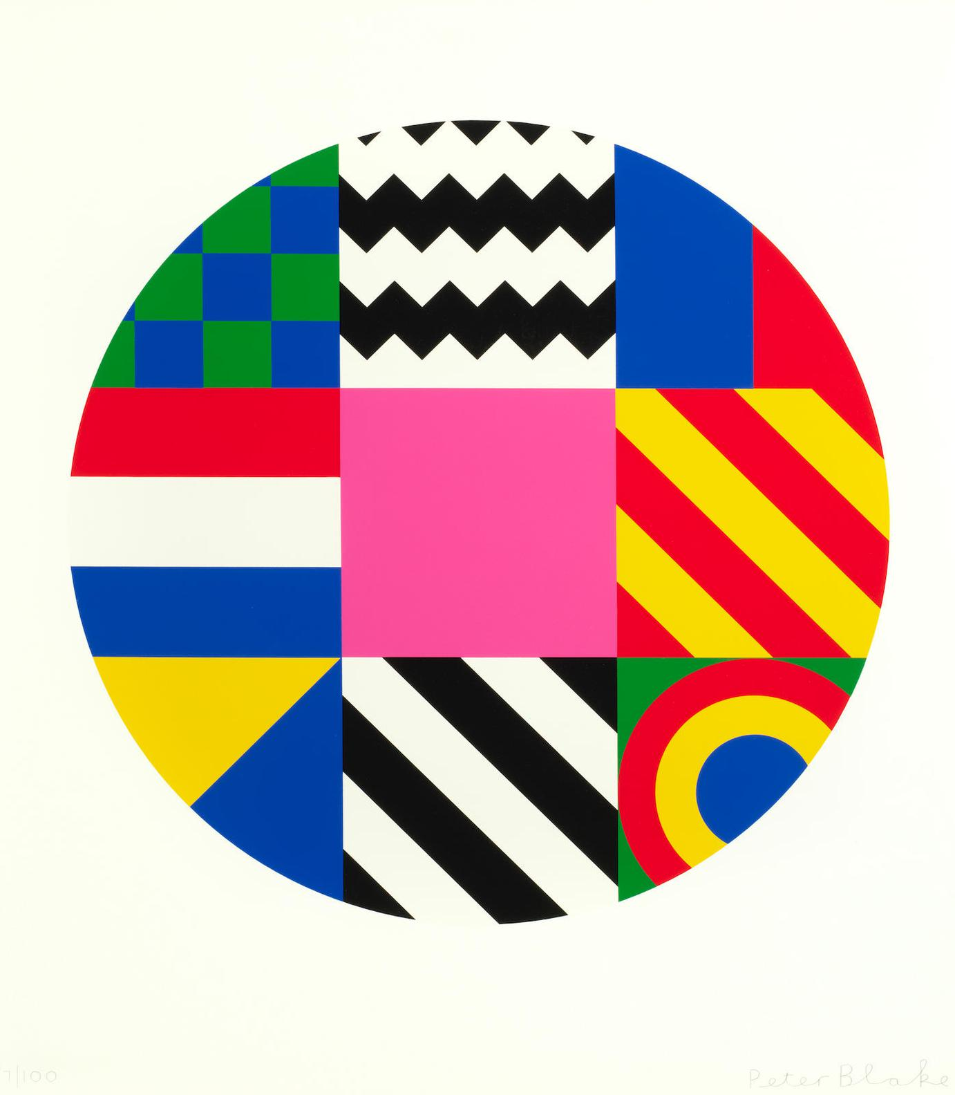 Sir Peter Blake - Dazzle Disc-2016