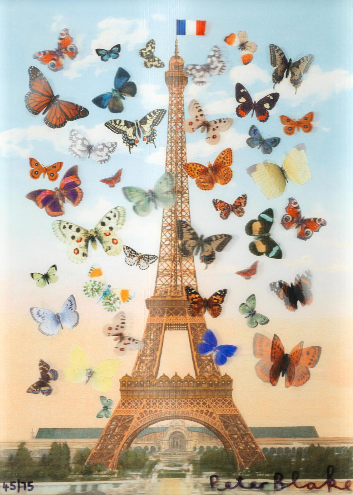 Sir Peter Blake - Eiffel Tower (Small)-2013