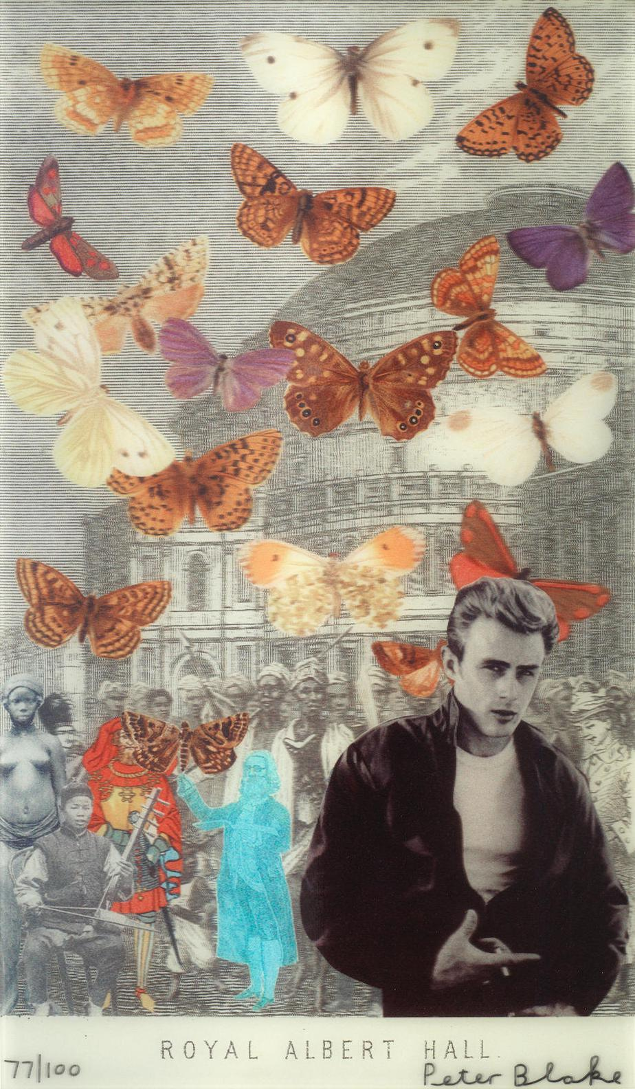Sir Peter Blake - James Dean At The Royal Albert Hall-2012