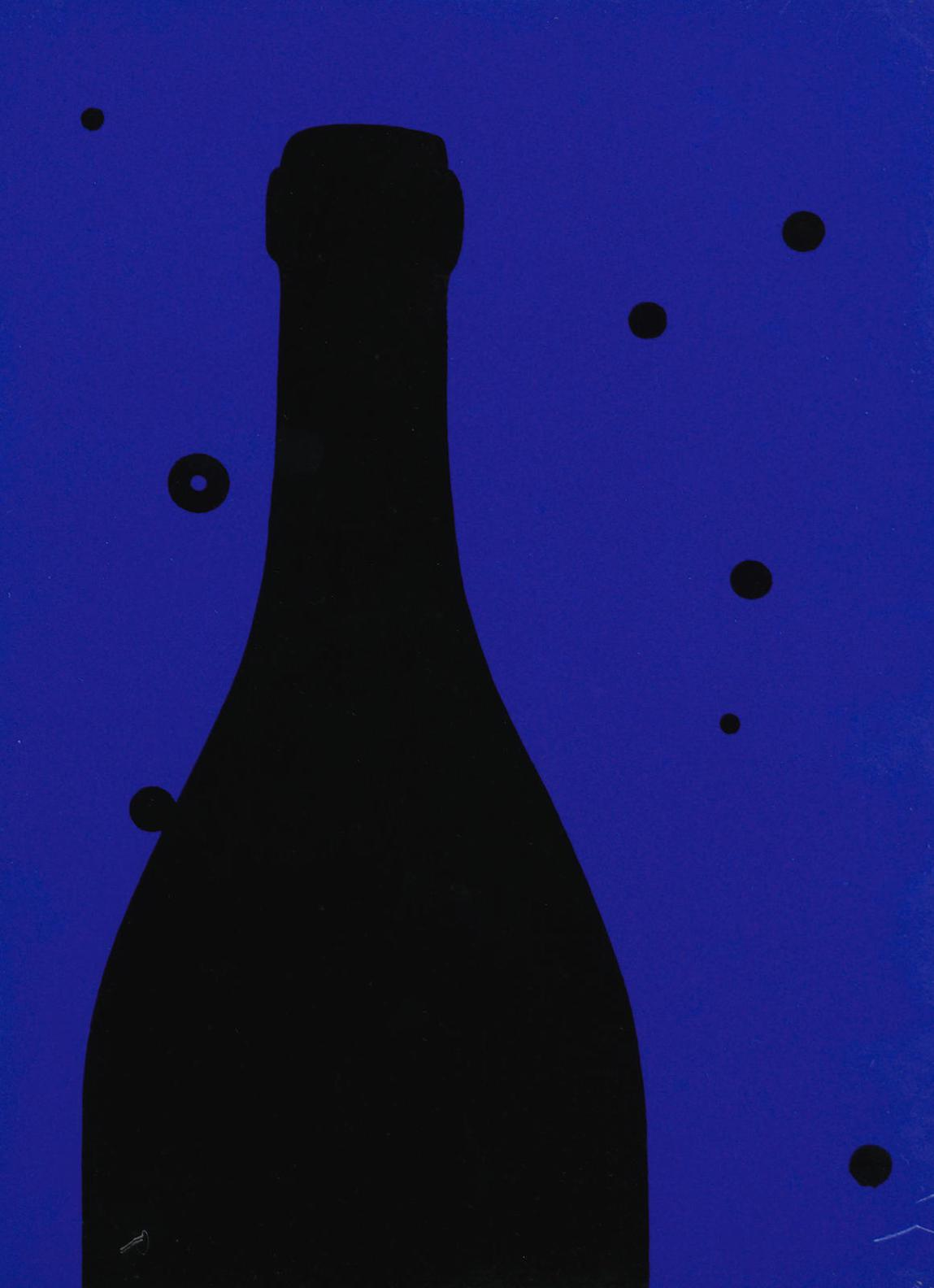 Patrick Caulfield-Night Sky, From Eighteen Small Prints-1973
