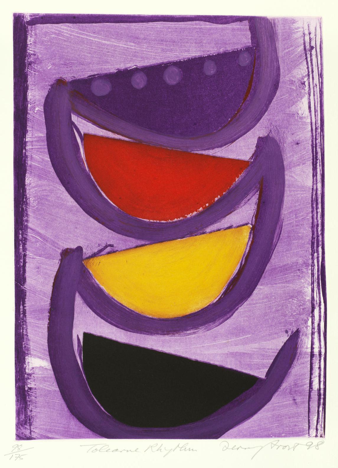 Sir Terry Frost - Tolcarne Rhythm (Kemp 184)-1998