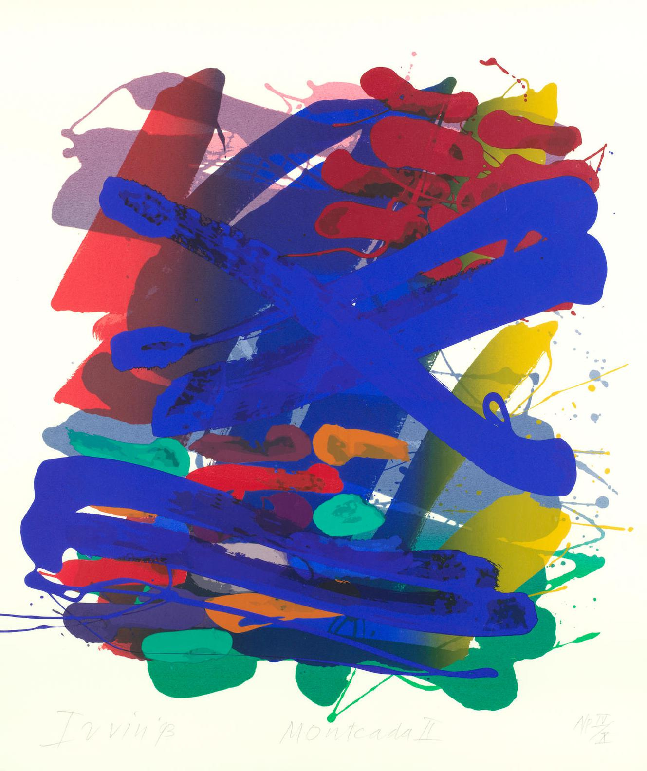 Albert Irvin-Montcada II-1993