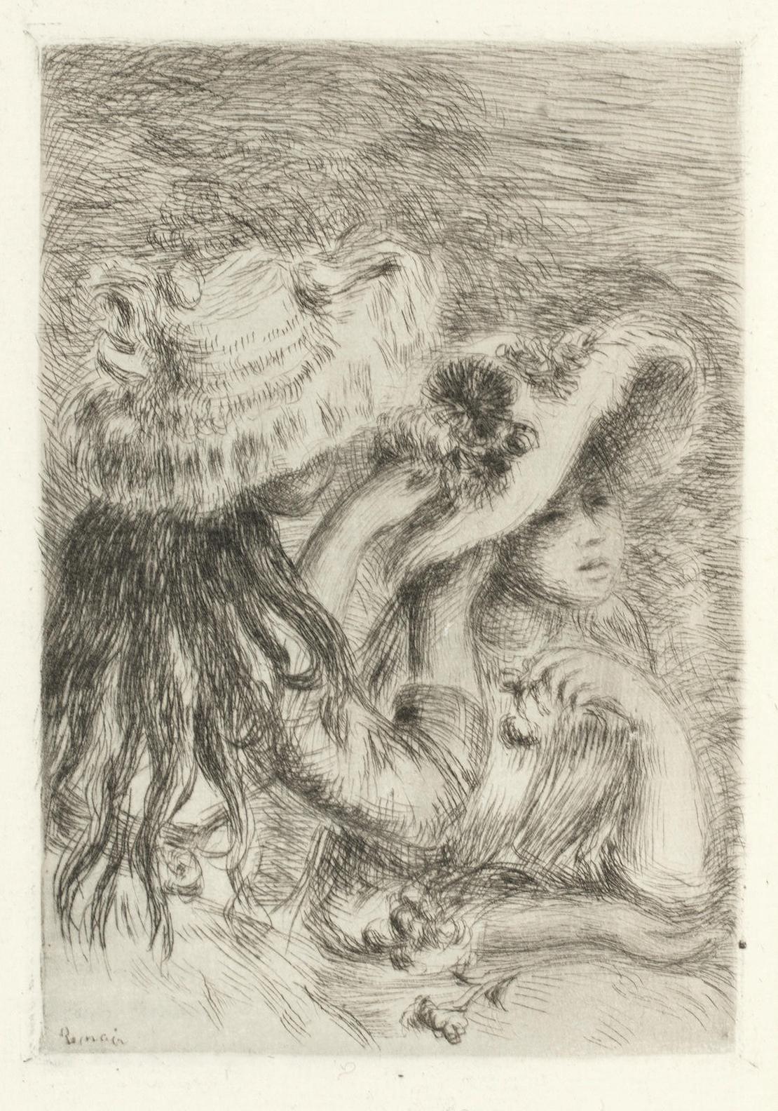 Pierre-Auguste Renoir-La Vie Artistique-1894