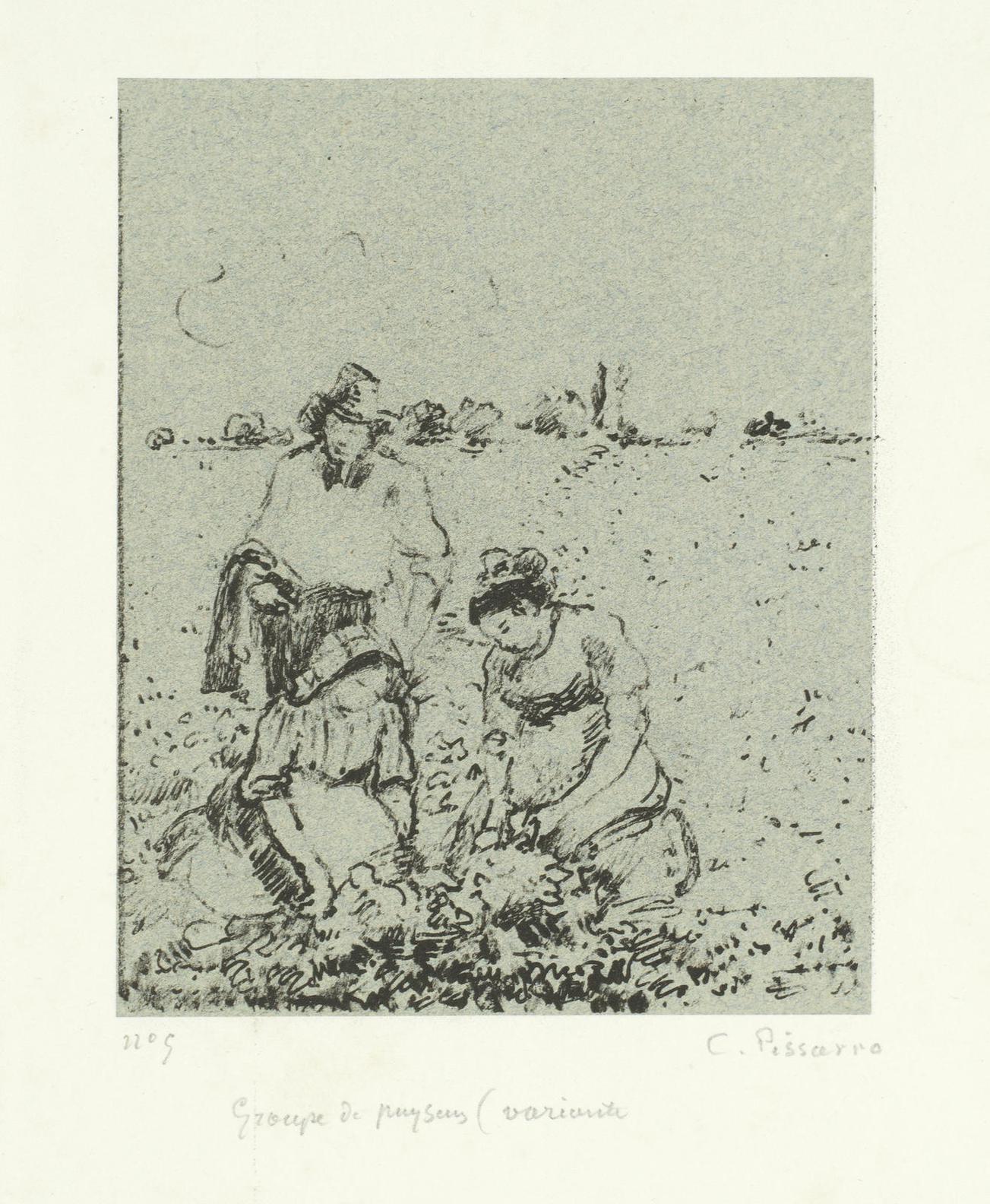 Camille Pissarro-Rue Gericault, A Rouen (D. 173)-1896