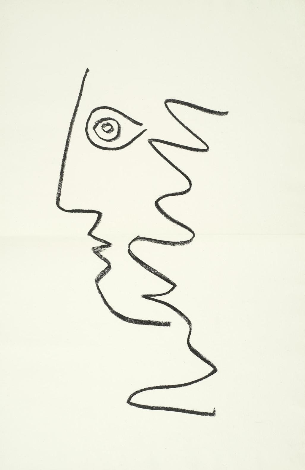 Jean Cocteau-Picasso De 1916 A 1961 (Bloch 1037-60 Mourlot 358-81; Cramer Books 117)-1962