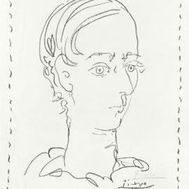 Pablo Picasso-Manolo Huguet-Affiche Pour Le Musee Dart Moderne, Ceret (Bloch 1278; Mourlot 301)-1957