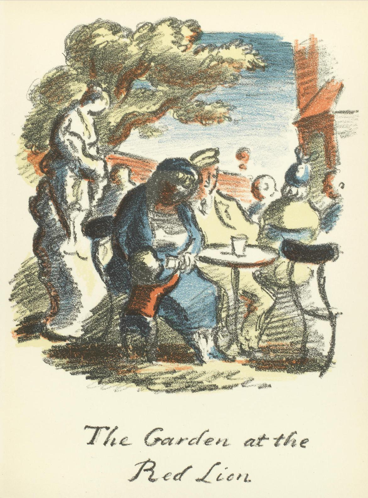 Edward Ardizzone - Collection Of Eleven Lithographs, From The Local-1939