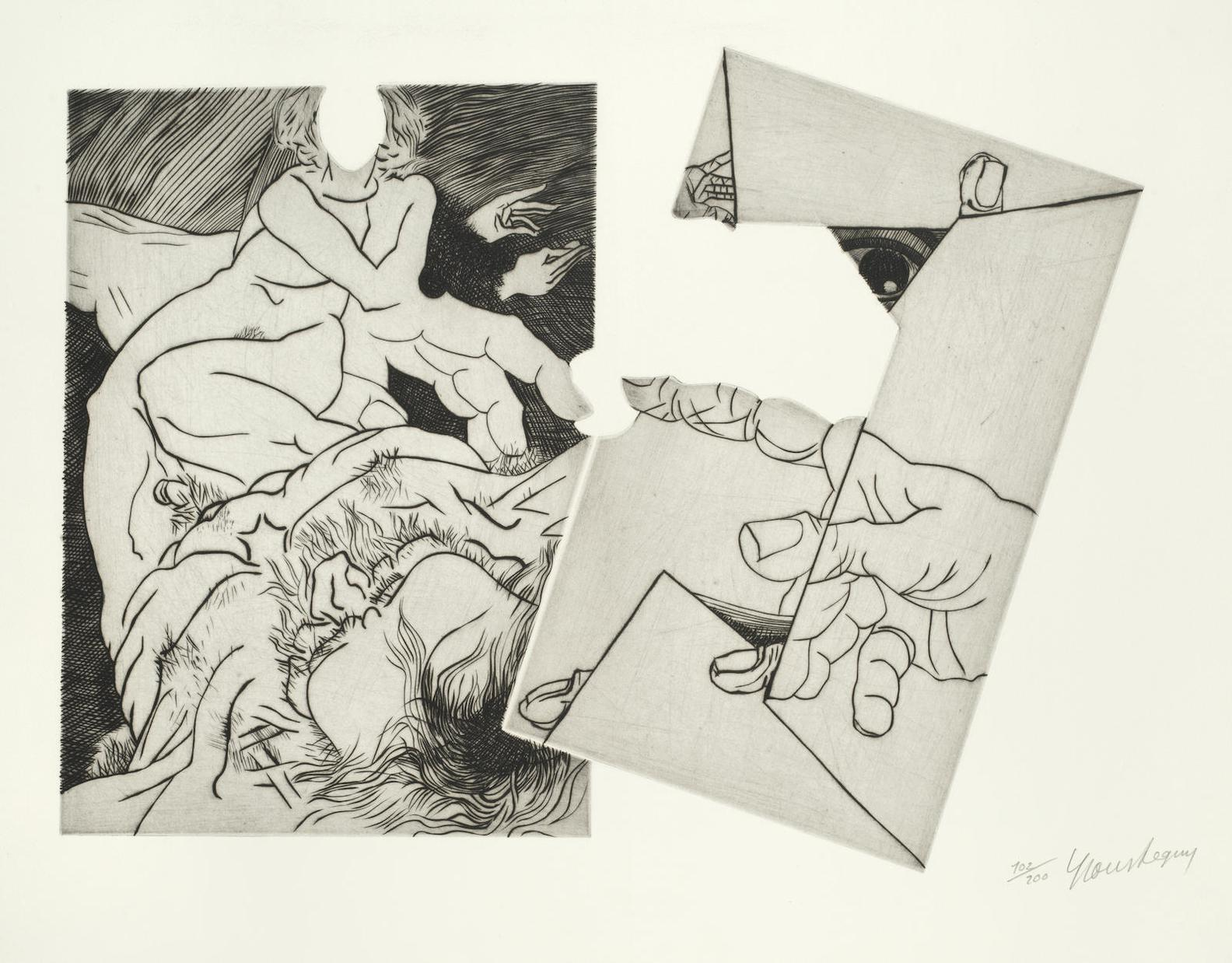 Various Artists - Three Plates, From Homage A Michelangelo-1975