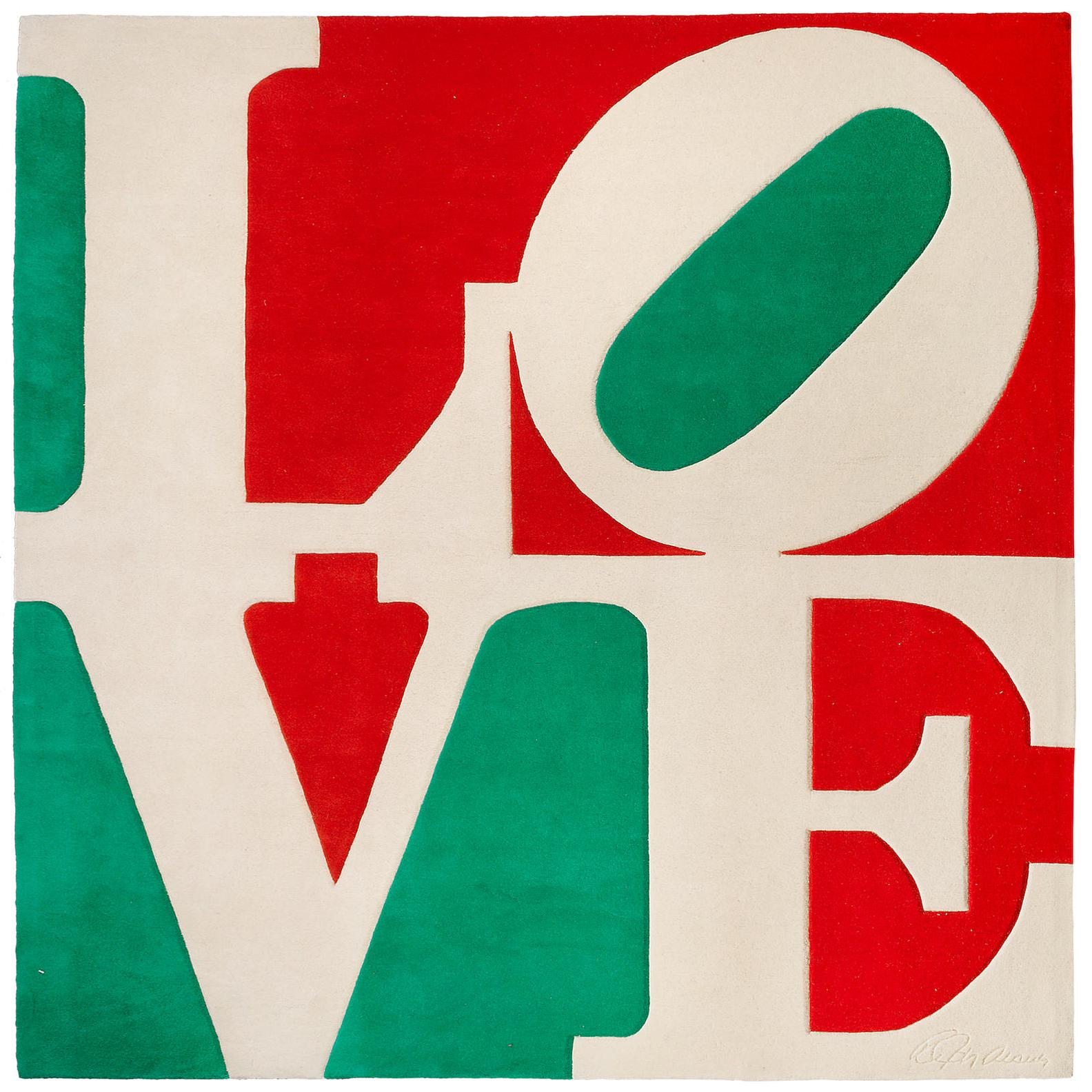 Robert Indiana-Italian Love-1995