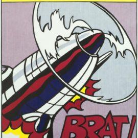 Roy Lichtenstein-After Roy Lichtenstein - As I Opened Fire (Triptych) (Corlett App.5)-1966