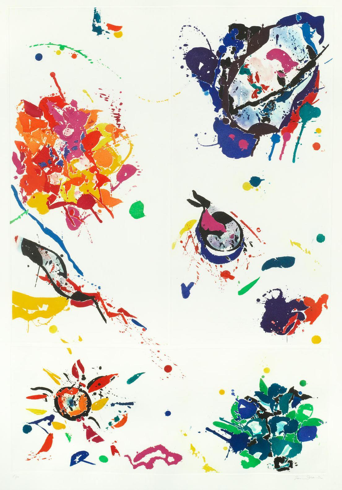 Sam Francis-Untitled (Sam Francise 46; Lembark I.90)-1988