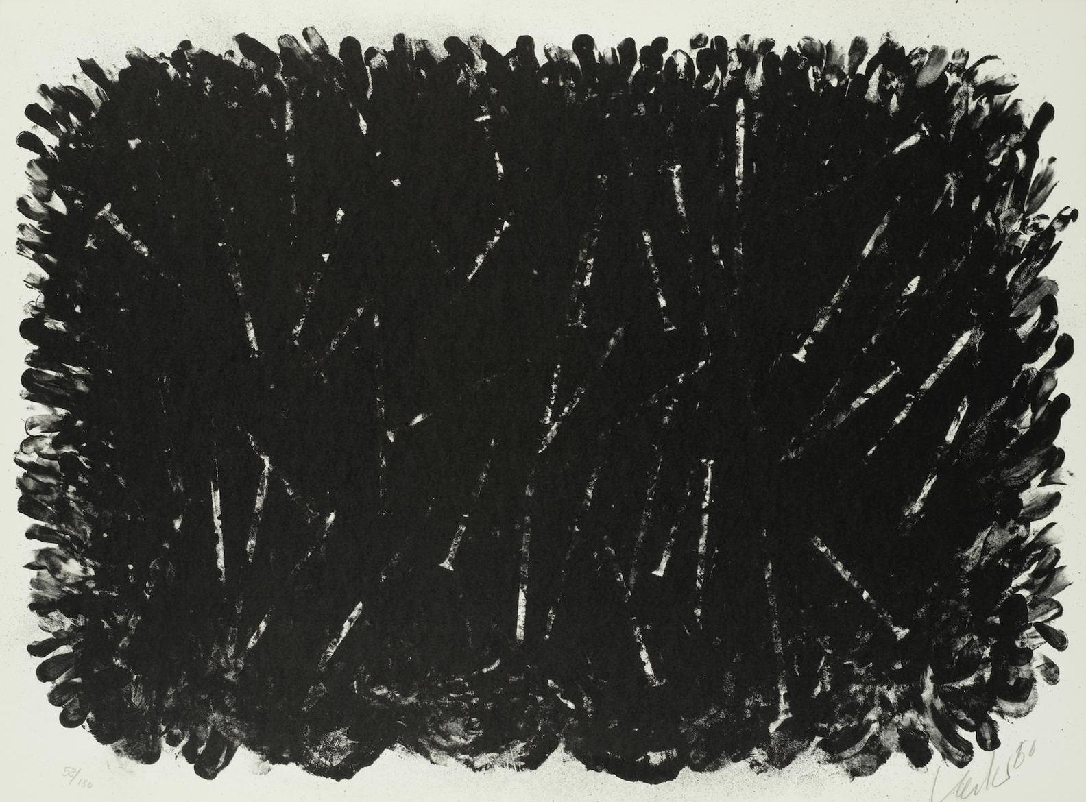 Gunther Uecker-Untitled-1980