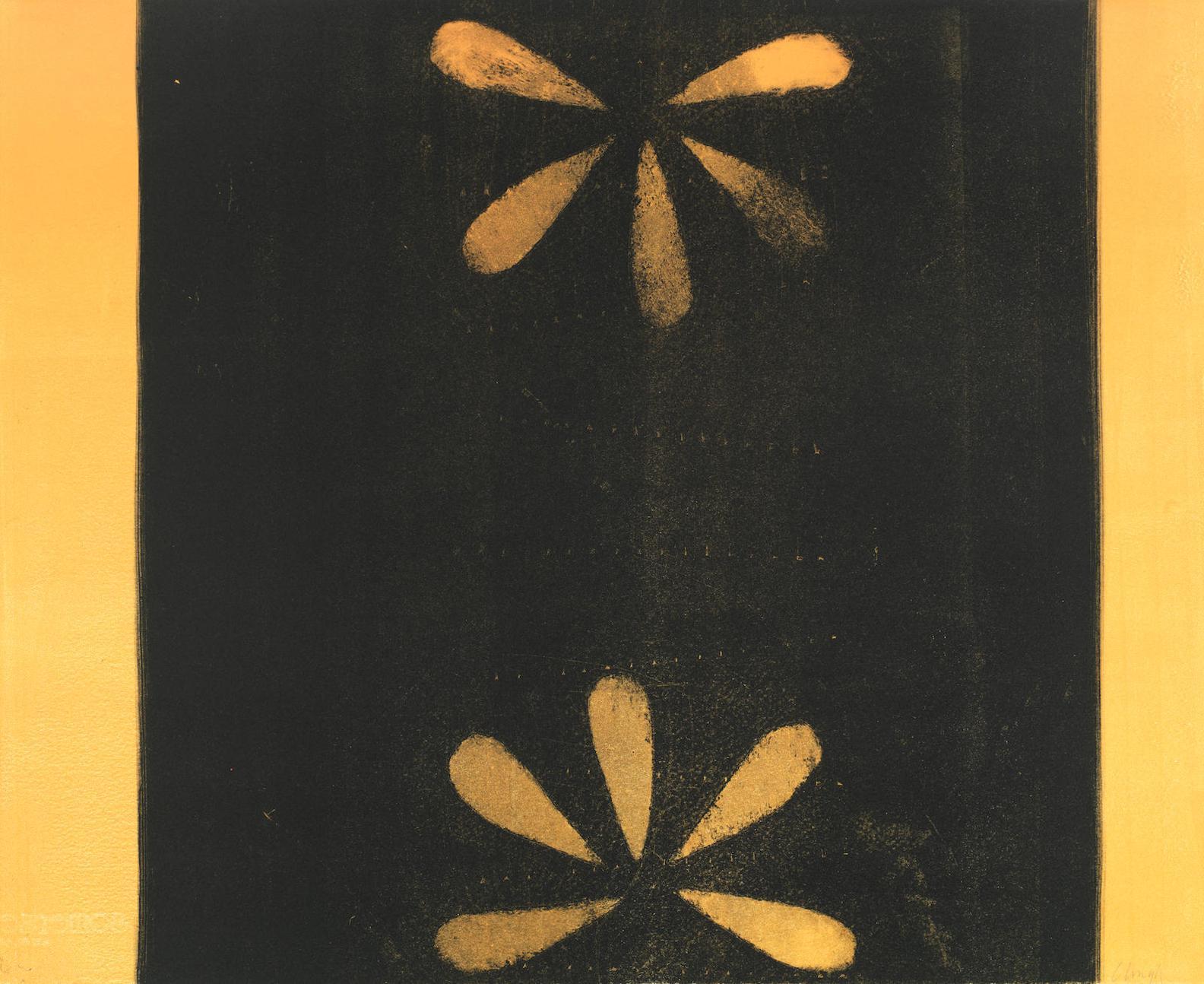 Prunella Clough-Flower Symmetry-1992