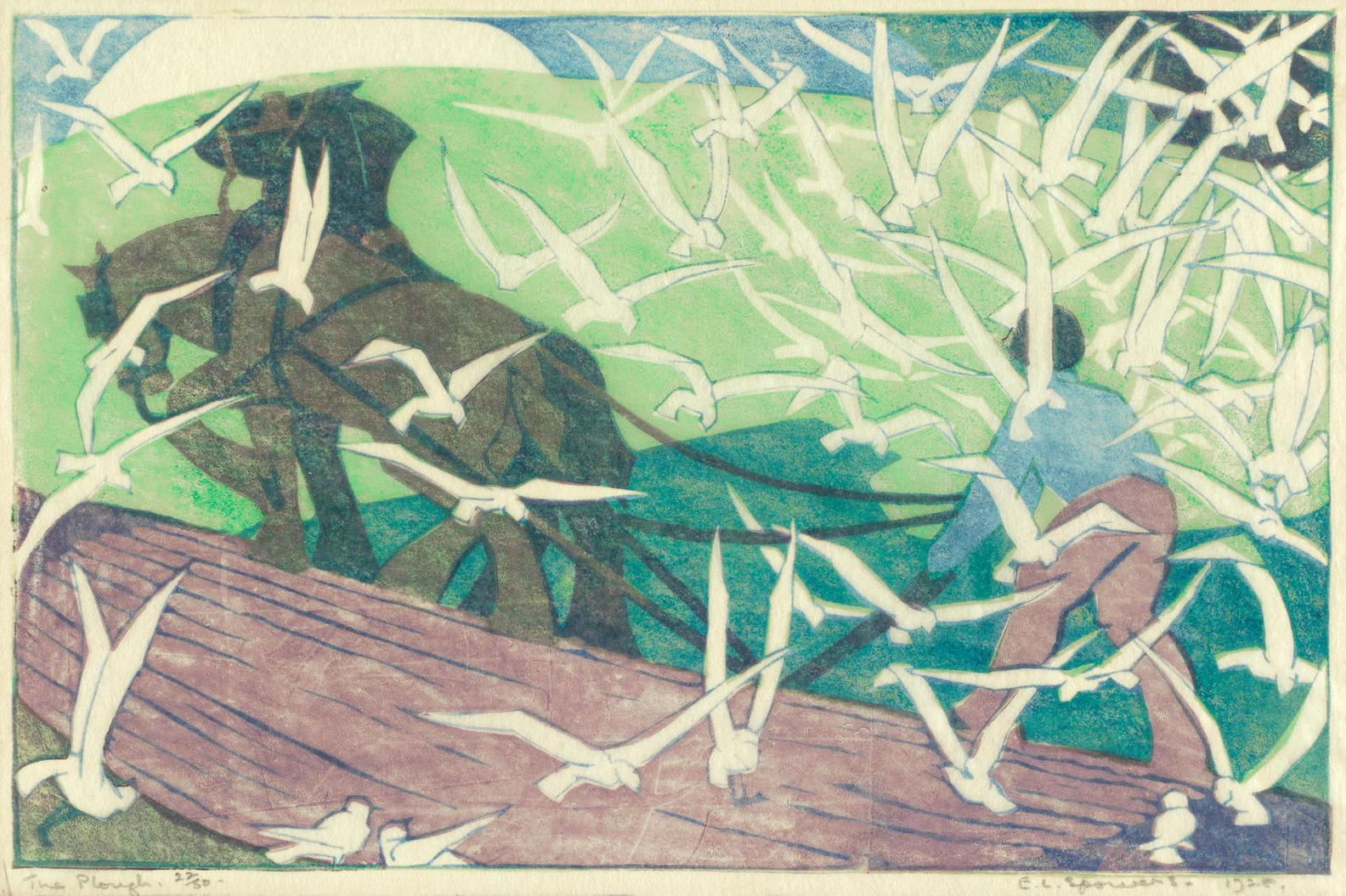 Ethel Spowers-The Plough (Coppel Es 13)-1928