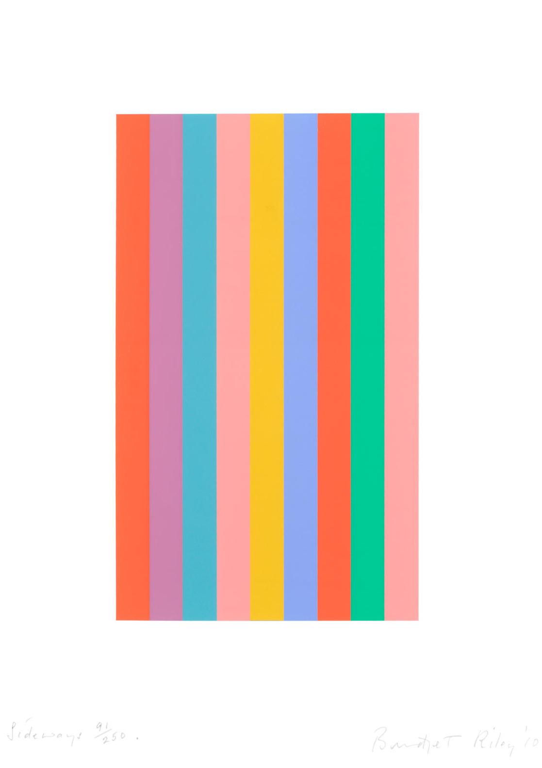 Bridget Riley-Sideways (Schubert 76)-2010