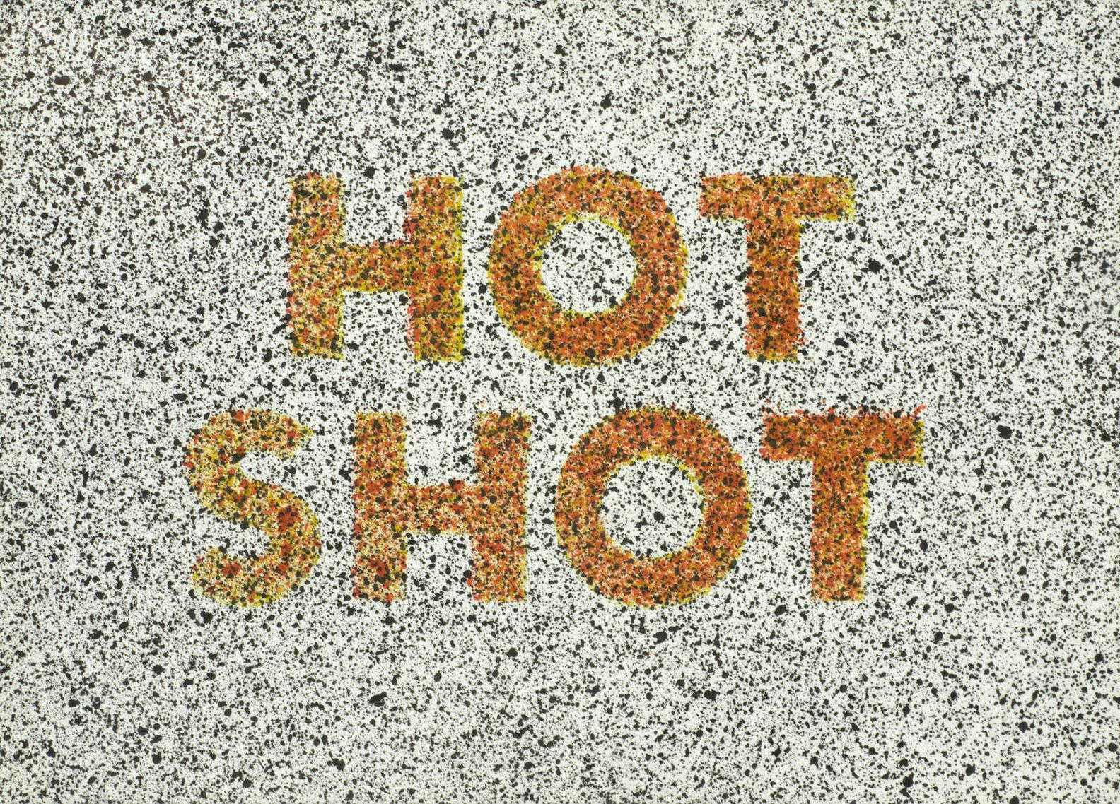 Ed Ruscha-Hot Shot, From Eighteen Small Prints-1973