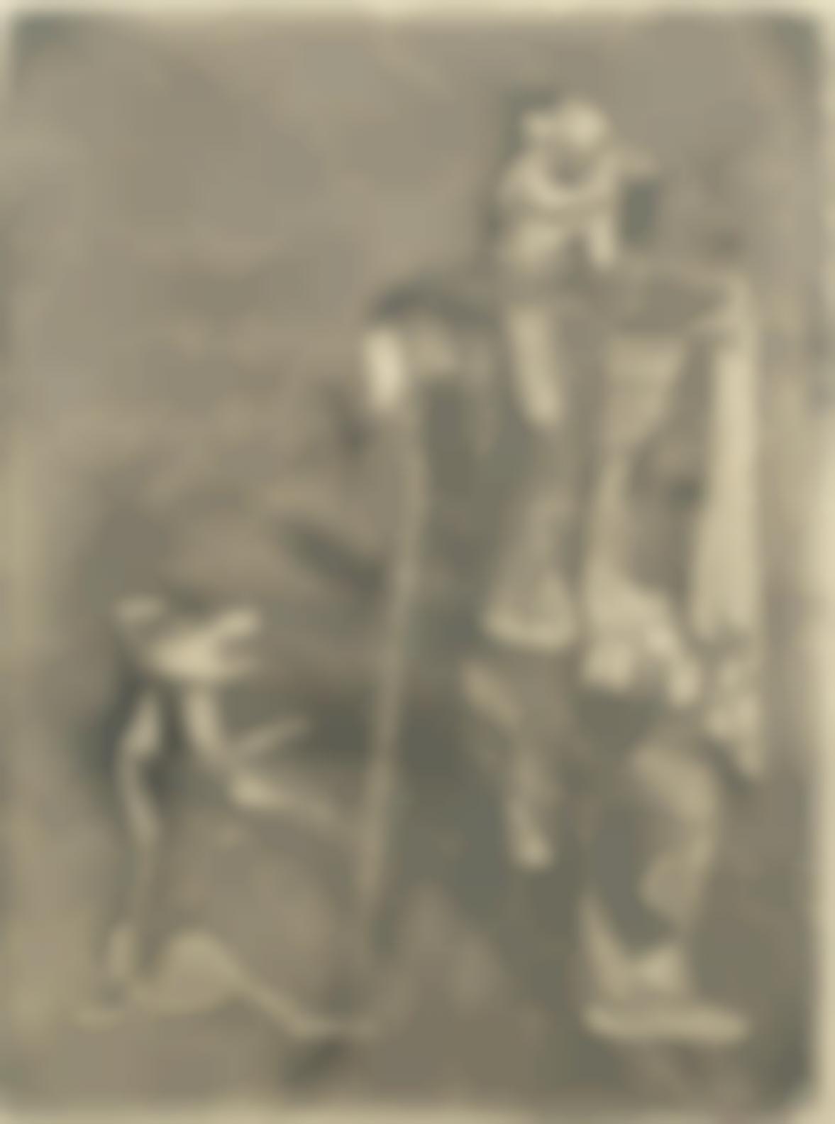 Robert Colquhoun-Beggar And Dog-1948