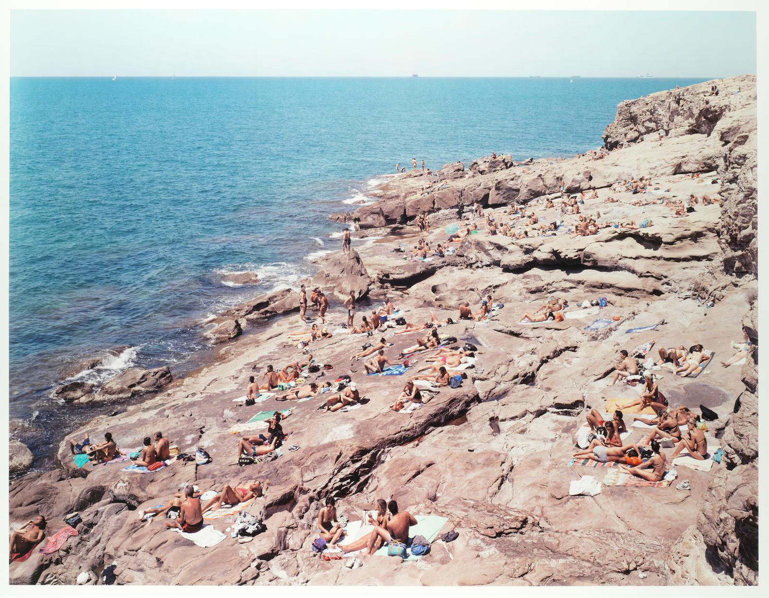 Massimo Vitali-Calafuria, From Portfolio Of Landscapes And Figures-2006