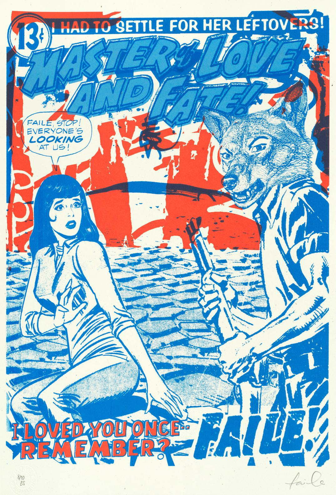 Faile-Agony And Ecstasy; Smoking Silence; Forbidden Love; Master Of Love And Fate-2006