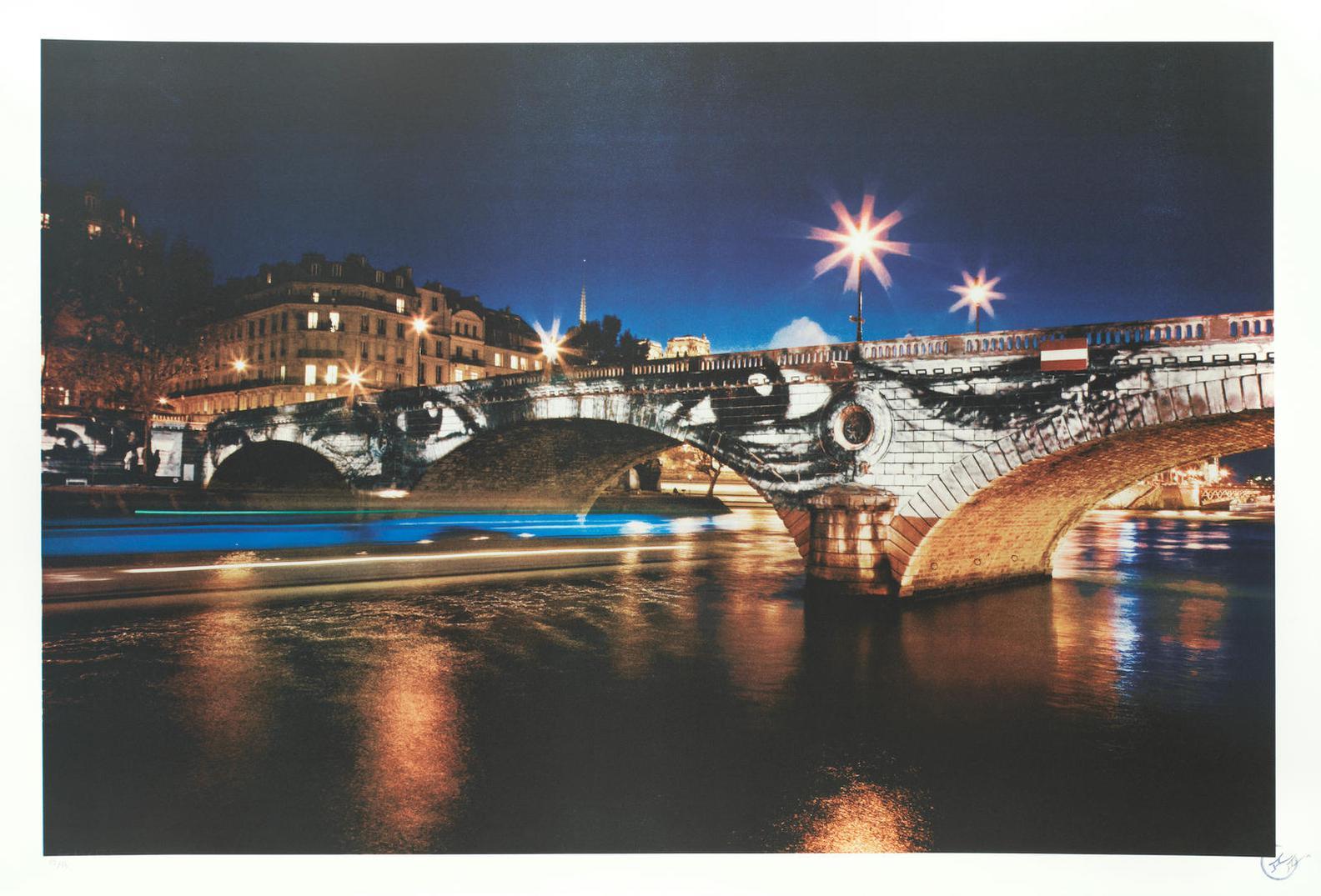 JR-Women Are Heroes, Pont-Louis Philippe, Paris-2009