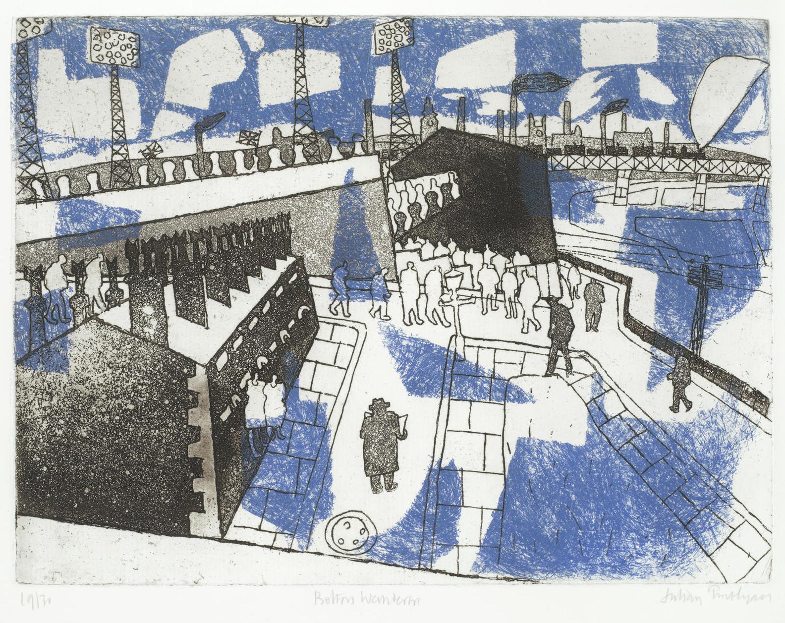 Julian Trevelyan-Bolton - A Set Of Scenes (Turner 167-171)-1965