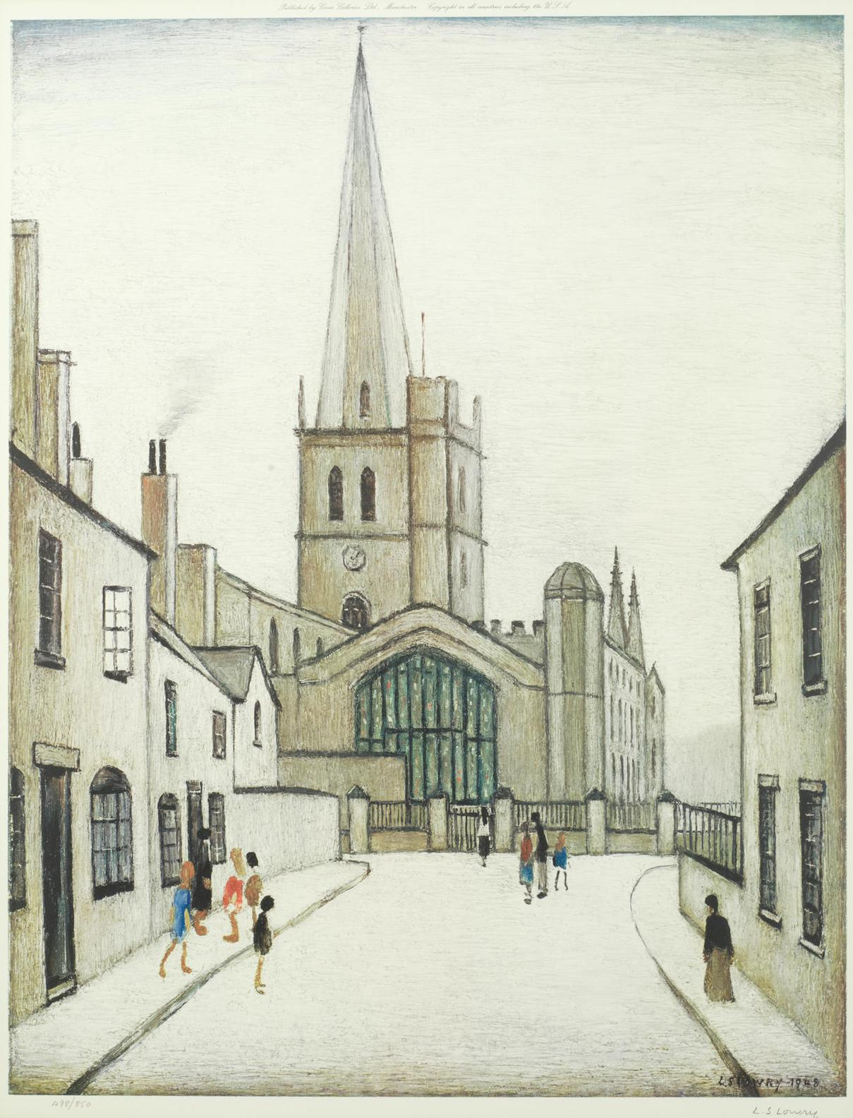 Laurence Stephen Lowry-Burford Church-