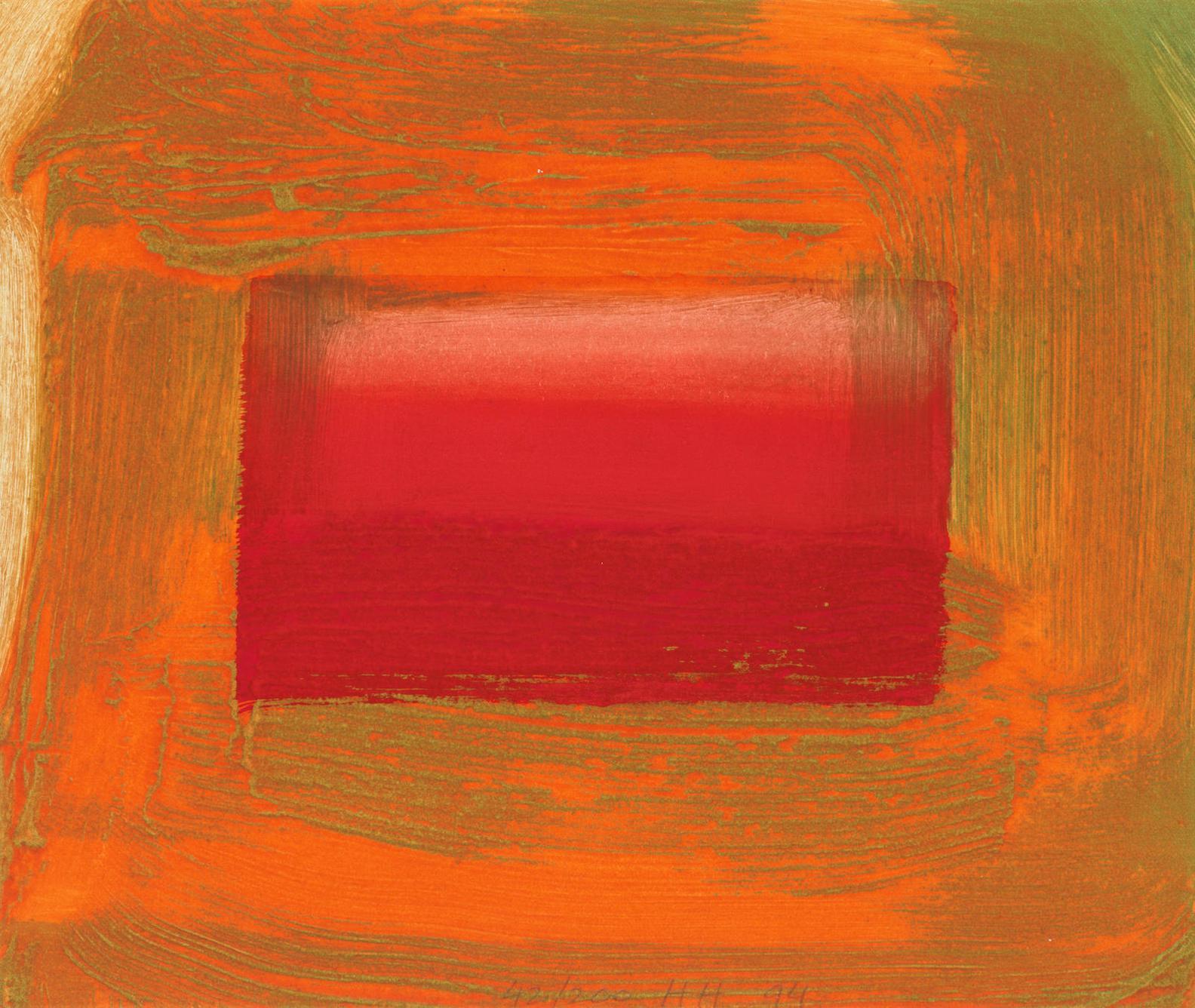 Howard Hodgkin-Red Print (Heenk 91)-1994
