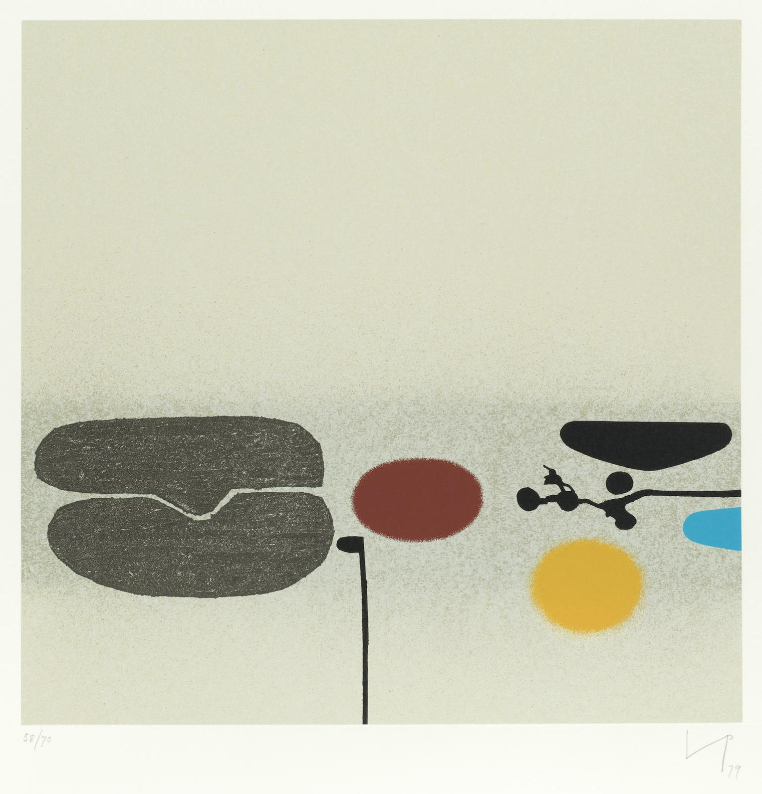 Victor Pasmore-Points Of Contact No. 29-1979
