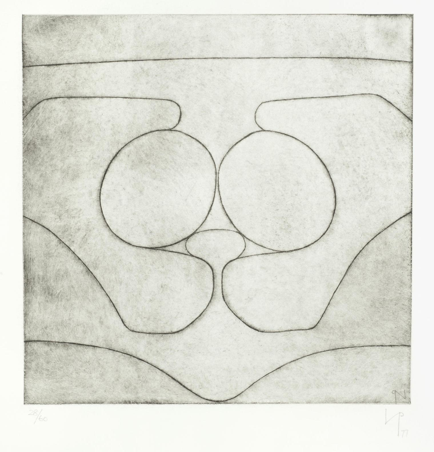 Victor Pasmore-Cave Of Calypso II (T.&H.; 60)-1977