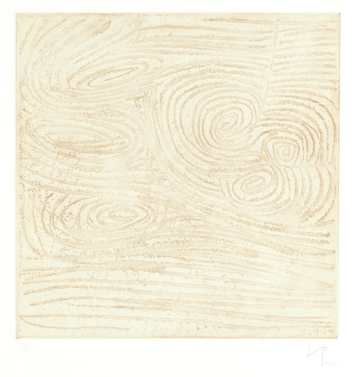 Victor Pasmore-Spiral Motif (Lynton, Supplement To T&H; 1)-1975